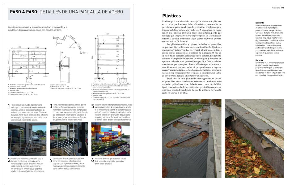 La publicación contiene numerosas imágenes, detalles constructivos y tablas con contenido práctico.