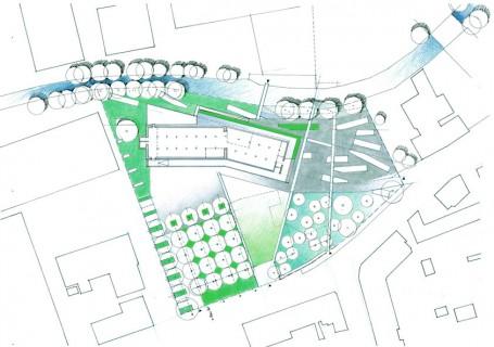 Plano del Prolin-Park de Atelier Le Balto.