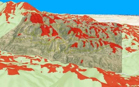 El cálculo de las cuencas visuales es una de las herramientas útiles que los sistemas GIS ofrecen al arquitecto del paisaje.