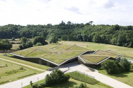 Cubierta verde museo de Vendée