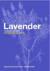 Lavender, the Genus Lavandula